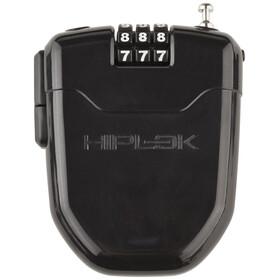 Hiplok FLX Sykkellås med integrerte LED-lys Svart